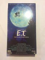 E.T. The Extra Terrestrial, A Stephen Speilberg Film, VHS Drew Barrymore New