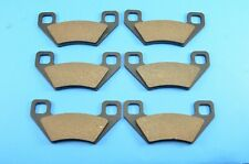 2006-2009 Fit Arctic Cat XT650 650 H1 Prowler Front and Rear Brake Pads