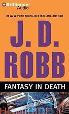 FANTASY IN DEATH J.D. Robb (2010 CD) Abridged Audio Book Compact Disc Murder