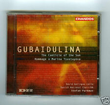 CD NEW GUBAIDULINA CANTICLE OF THE SUN DAVID GERINGAS (CELLO)