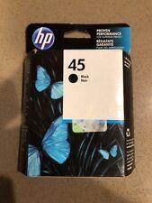 GENUINE HP 45 INK CARTRIDGE BLACK 51645A NEW FACTORY SEALED BOX