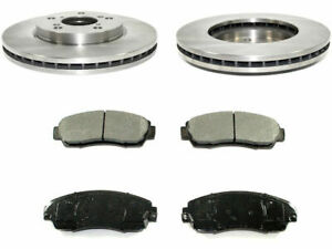 For 2005-2010 Honda Odyssey Brake Pad and Rotor Kit Front 12538RK 2006 2007 2008