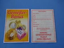 2018 - Mon Cheri -  Genießer Bonus