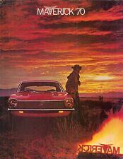 Ford Maverick 1970 USA Market Foldout Sales Brochure