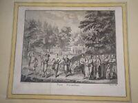 Pierre LAURENT Gravure XVIII SCENE ANIMEE NOCE GRECE GREECE OTTOMAN 1780
