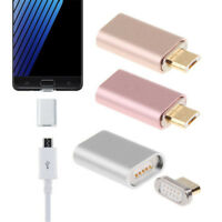 NEW Magnetic Adapter Micro USB Charging Cable Data Charger For Android Samsung