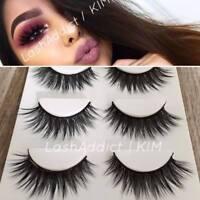 💕 TOP 3 Pairs 3D Mink Lashes False Eyelashes | MAKEUP Gift Set 💕 US SELLER