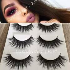 💕 TOP 3 Pairs 3D Mink Lashes False Eyelashes | MAKEUP Gift Set 💕 US SELLER