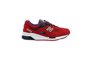 [CM1600BD] New Balance 1600 Mens Running Sneakers Pinball Red/Black-Purple