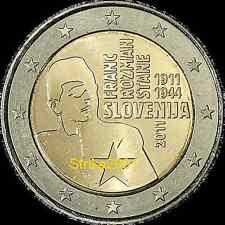 2 EURO COMMEMORATIVO SLOVENIA 2011 Franc Rozman