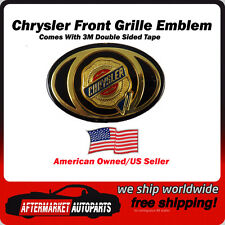 2005-2010 Chrysler 300 Gold Front Grille Emblem Badge Medallion Ships in USA