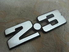 "ONE NOS GENUINE FORD CORTINA GRANADA Mk2 "" 2.3 ""  NAME BOOT BADGE"