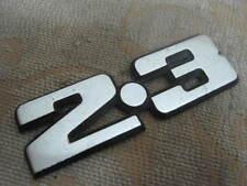 "ONE NOS GENUINE FORD CORTINA GRANADA Mk2 "" 2.3 ""  NAME BOOT BADGE"