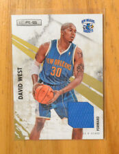 David West 2010-11 Panini Rookies & Stars Jersey Swatch Card #D 112/299