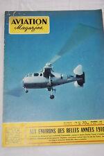 AVIATION MAGAZINE N°183- 1956-AVIATION EN 1910 PIONNIERS