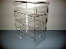 "Acrylic Lucite Countertop Display Case ShowCase Box Cabinet 12"" x 9 1/2"" x 16"""