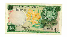 SINGAPORE..... P-2c..... 5 Dollars.... ND(1973)..... *F/VF*