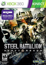 ELDORADODUJEU >>> STEEL BATTALION HEAVY ARMOR KINECT Pour XBOX 360 VF NEUF