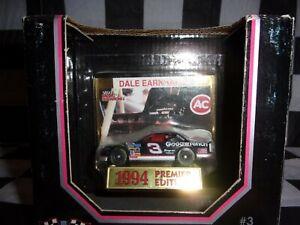 DALE EARNHARDT SR. #3 1994 6X Winston Champ 1:64  NASCAR Racing Champions w/Card
