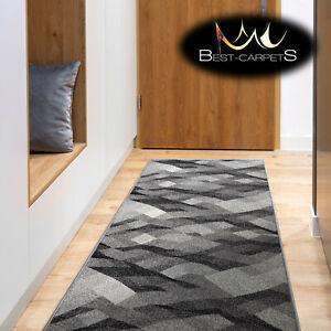 Amazing Modern Hall Runner SILVER PALANGA Width 80-100 cm GREY Best Quality