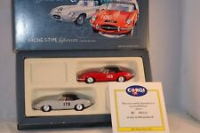 Corgi Toys 97701 Jaguar 2 racing E-type Supercats mint in box