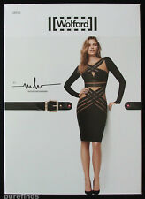 Wolford W MH Buckle Bodycon Dress Gobi/black Size Medium UK 14 USA 12