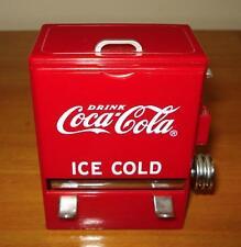 Coca Cola Tablecraft Vending Machine Toothpick Dispenser