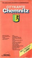 Citykarte Chemnitz, 1:2000, Metrik Vermessungs-GmbH == zeitige 90-iger Jahre???