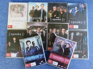 SPOOKS COMPLETE SEASON 1 TO 10 & FINAL DVD TV MI5 PETER FIRTH 2 3 4 5 6 7 8 9