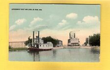 De Pere,Brown County,WI Wisconsin, Government Boat and Lock