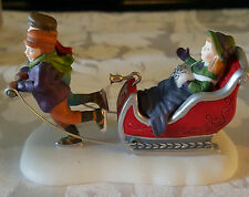 "DEPARTMENT 56 HERITAGE VILLAGE COLLECTION ""Winter Sleighride,"" NEW, #56.58254"