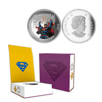 2015 Canada  $20 Superman Action Comics #28, 1 oz. Silver Proof Coin w/OGP + COA