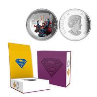 2015 Canada  $20 Superman Action Comics #28, 1 oz. Silver Proof Coin w/OGP + COA