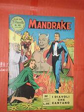 MANDRAKE EDIZIONI IL VASCELLO N° 42 -EDITRICE SPADA -DEL 1963- RARO LIRE 50