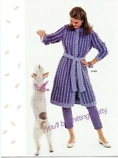 Unger Fluffy Vintage 1980s Knitting Pattern Lealfet Vol 296 - Women & Children