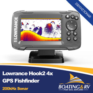 Lowrance Hook2 4x GPS | Fishfinder with Transducer | Hook2 4x GPS | Free Postage