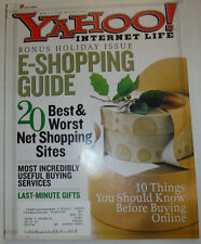 Yahoo! Magazine E-Shopping Guide Winter 2000 032015R