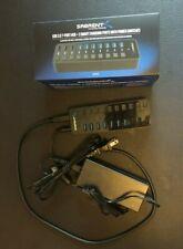 Sabrent USB 3.0 7-Port Hub + 3 Smart Charging Ports w/ Power Switches