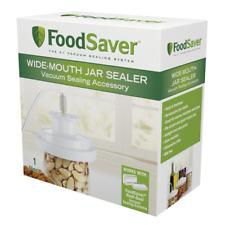 Wide Mouth Attachment Jar Sealer Vacuum Food Fresh BPA Mason Lid Regular Storage