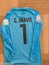 Claudio Bravo Copa AmÉRica 2015 Match Unworn Shirt