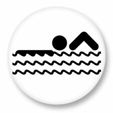 Magnet Aimant Frigo Ø38mm Picto Pictogramme Sport Game Olympic natation