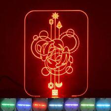 Circle Fish Decorative Rectangle Colour Changing LED Acrylic Light