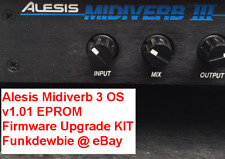 Alesis Midiverb 3 OS v1.01 EPROM Firmware Upgrade KIT / New ROM Update Chips