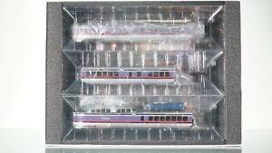 Rapido TurboTrain 3pcs set Penn Central DCC w/Sound HO scale