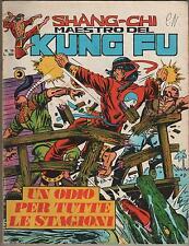SHANG CHI corno N.19 UN ODIO PER TUTTE LE STAGIONI shang-chi kung fu sons tiger