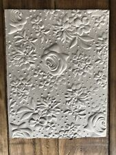 Embossed Card Front Country Floral , Other Colors Available