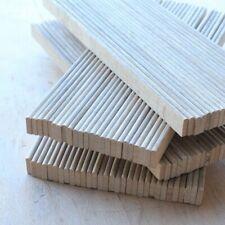 abgerundete TRENNLEISTEN aus Holz Setzkasten Bleisatz Buchdruck Handsatz 238 mm