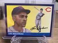 LOU BOUDREAU 2020 Topps Archives PURPLE Parallel /175 Cleveland Indians #53