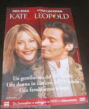 KATE & LEOPOLD (2001) LOCANDINA POSTER 69 X 47,5 CA