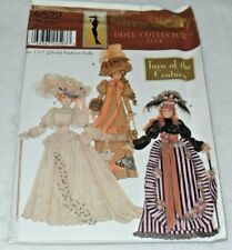 SIMPLICITY 9522 Barbie Doll Collector's Club Turn of the Century Uncut OOP
